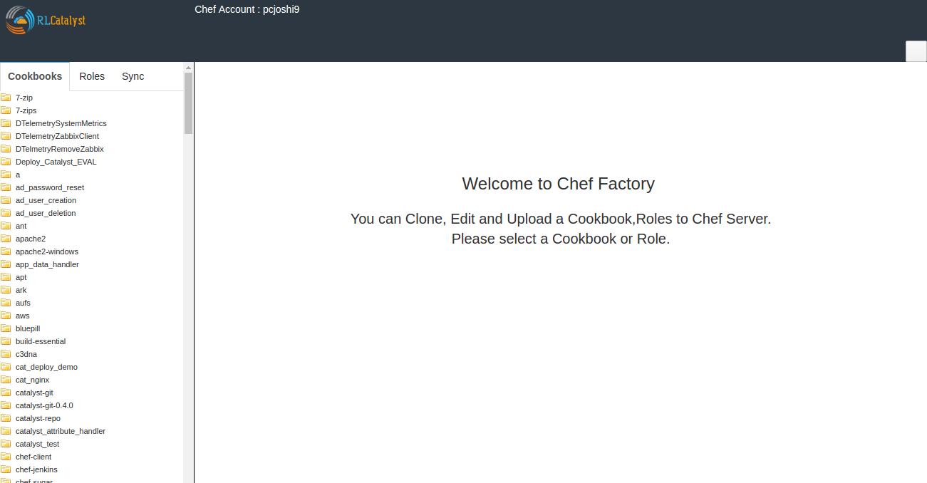 Chef Server — RLCatalyst latest documentation
